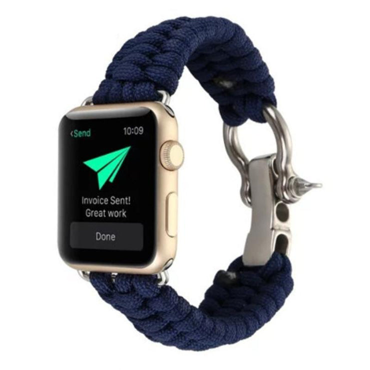 Apple Watch Rope Bracelet Band Blue / 38mm/40mm