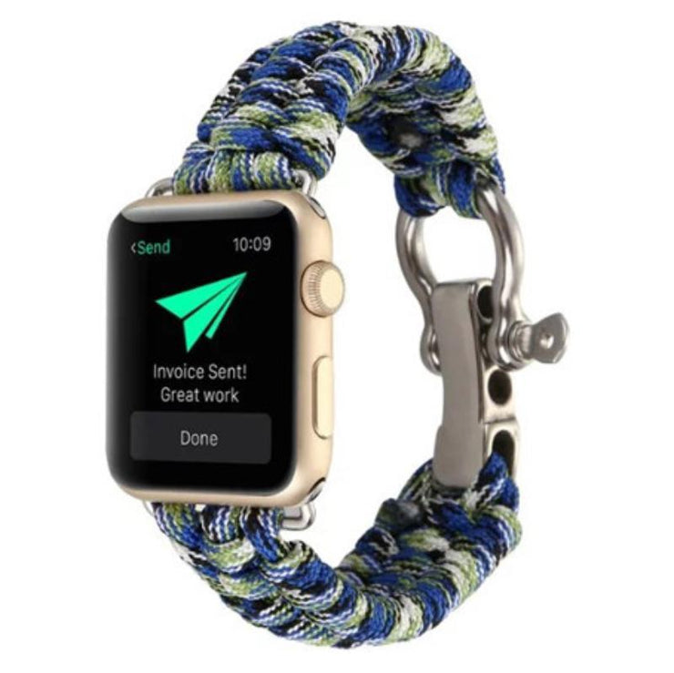 Apple Watch Rope Bracelet Band Blue/Green / 38mm/40mm