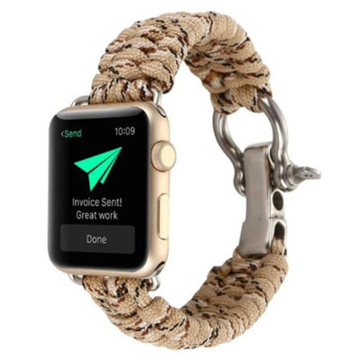Apple Watch Rope Bracelet Band Desert Sand / 38mm/40mm