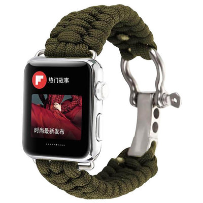 Apple Watch Rope Bracelet Band Green / 38mm/40mm