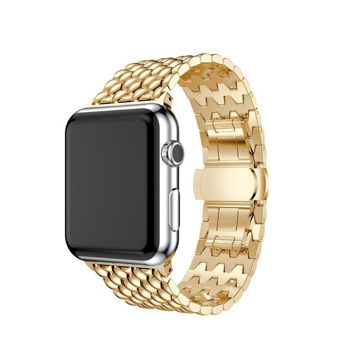 Apple Watch Stainless Steel Bracelet Band Gold / 38mm/40mm