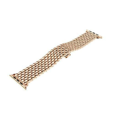 Apple Watch Stainless Steel Bracelet Band Rose Gold / 38mm/40mm
