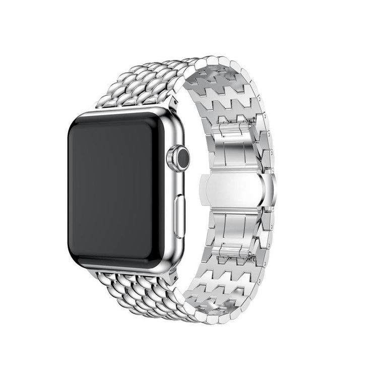 Apple Watch Stainless Steel Bracelet Band Silver / 38mm/40mm