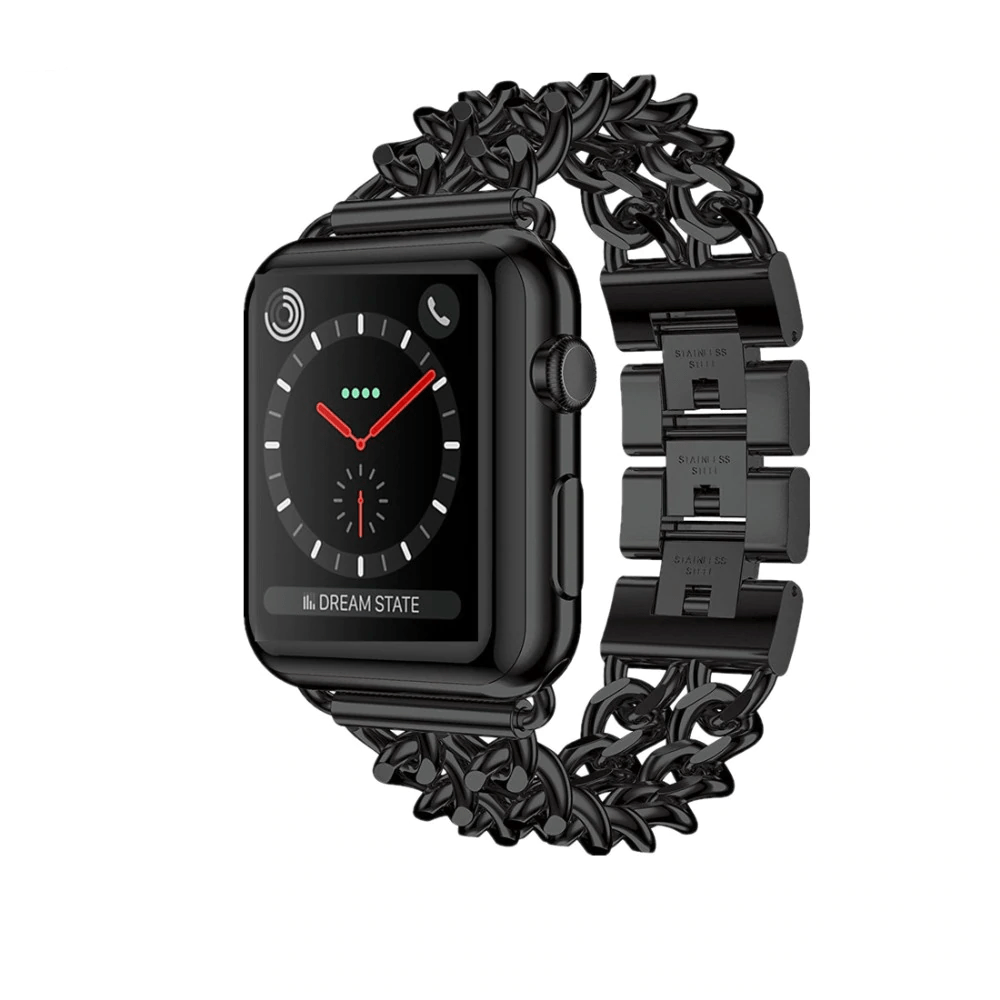 Stainless Steel Chain Bracelet Apple Watch Band