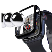Tempered Glass Apple Watch Protective Case