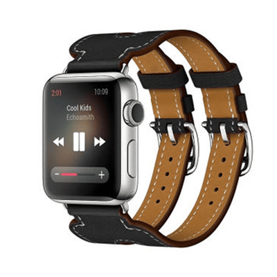 Double Buckle Cuff Apple Watch Band