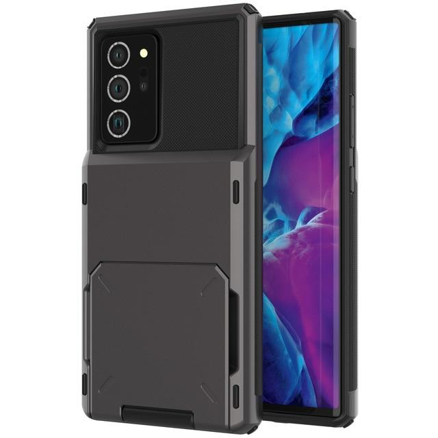 Hidden Card Slot Samsung Galaxy Note Case for Galaxy Note 9 / Black