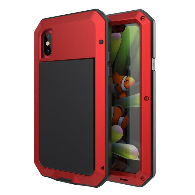 Heavy Duty iPhone Case iPhone 5C / Red
