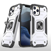 Magnetic Shockproof iPhone Case For iPhone 6 / Sliver