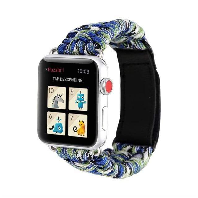 Survival Rope Apple Watch Band Starry color / 38mm or 40mm