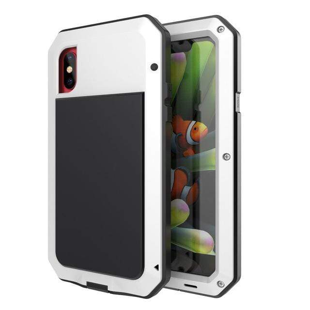 Heavy Duty iPhone Case iPhone 5C / White