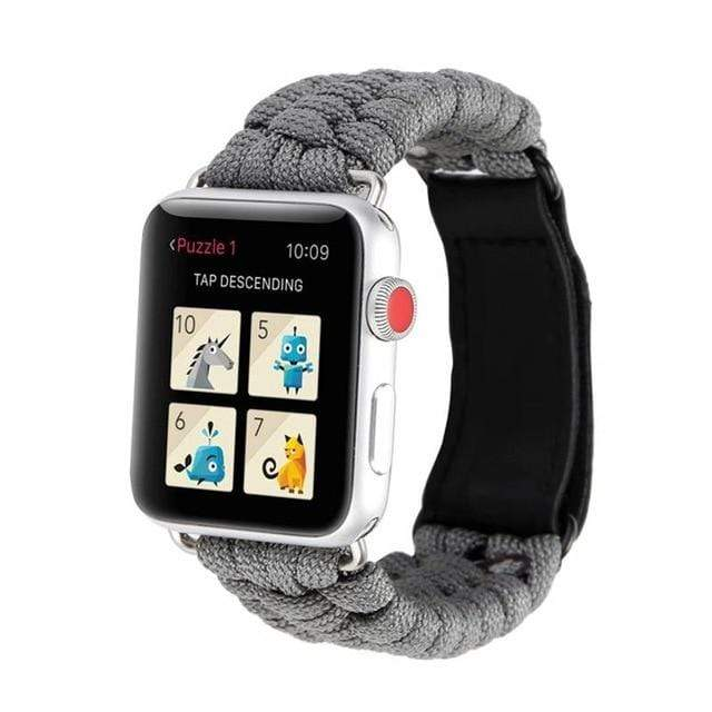 Survival Rope Apple Watch Band gray / 38mm or 40mm