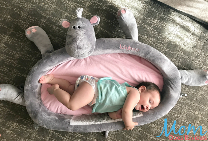 Mom Does Reviews – The Lulyboo on the go Toddler Lounger