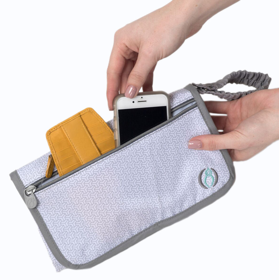 diaper changing kit - cell phone and keys storage