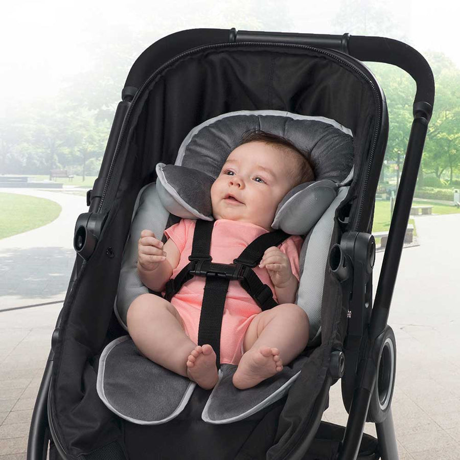 infant to toddler head and body support - stroller