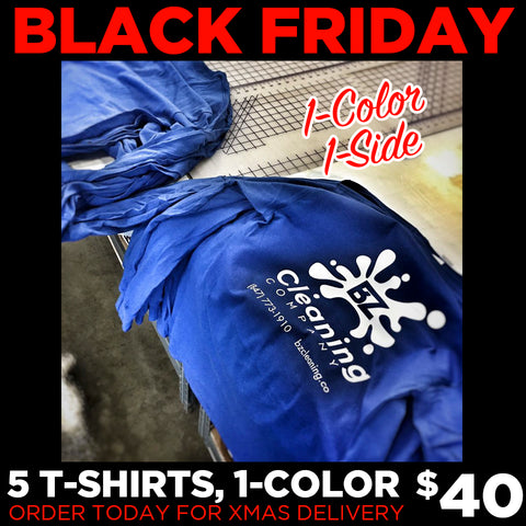 BLACK FRIDAY - TSHIRT DEAL