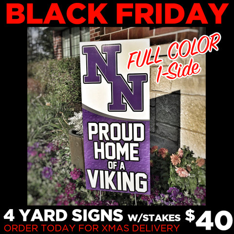 BLACK FRIDAY - Yard Sign Deal
