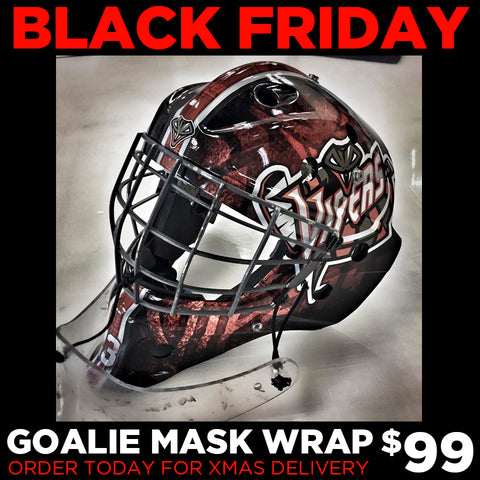 BLACK FRIDAY - Goalie Mask Wrap