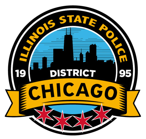 IL STATE POLICE District Chicago Decal