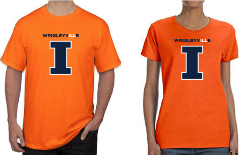 LLAA WrigleyvILLe TShirt - ORANGE