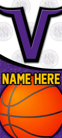 Niles Basketball Yard Sign