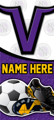 Niles Soccer Yard Sign