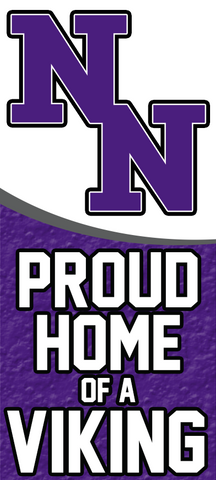 Double N Outline Proud Home Yard Sign
