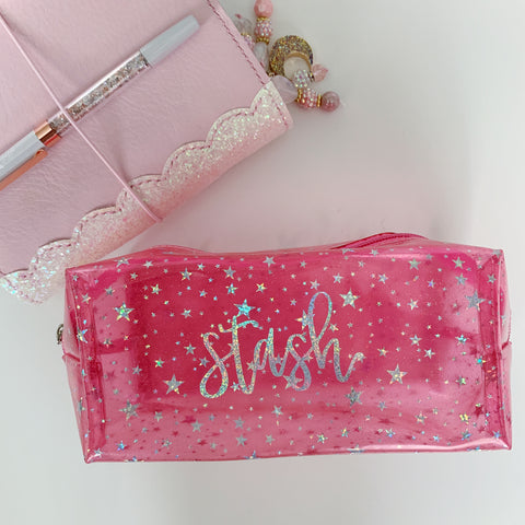 Pink Stash Pouch
