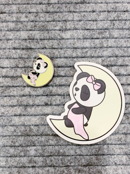 Enamel Pin and Vinyl Sticker Die Cut Set