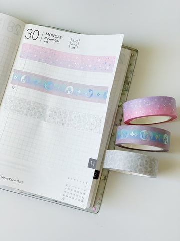 Foiled Washi (15mm)