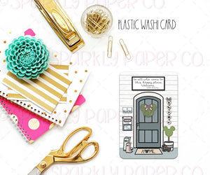Farmhouse Magic Door Washi Card