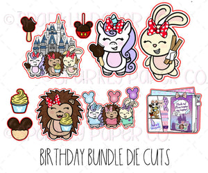 Magical Birthday Die Cut Bundle