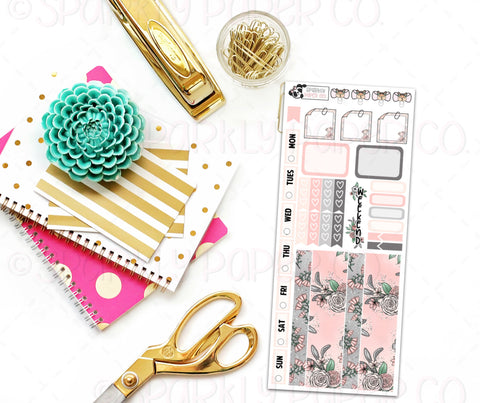 Champagne Blooms Hobo Weeks Kit