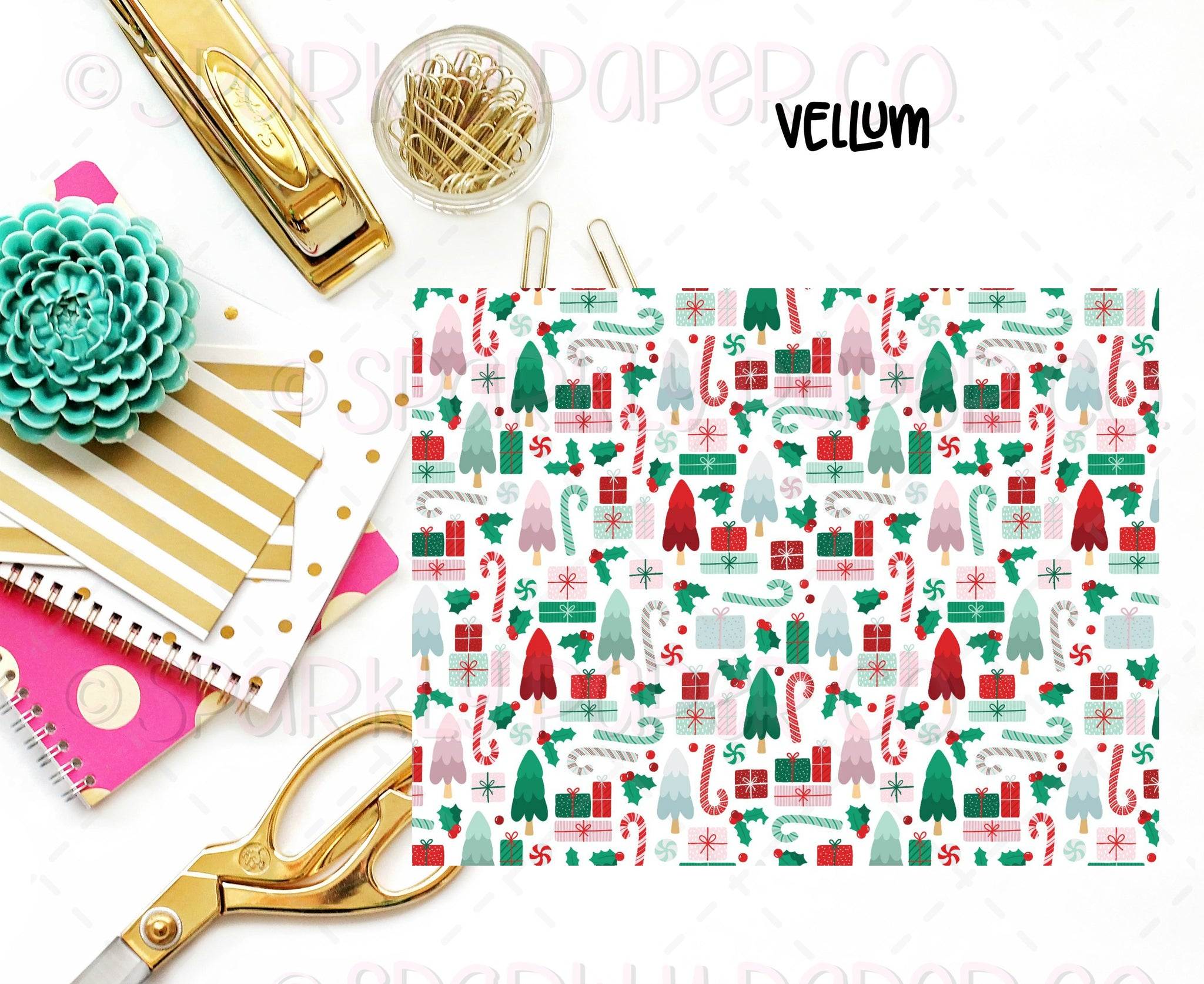 Christmas Fun Vellum