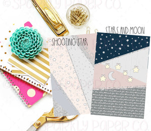 Reach For the Stars Double Sided Shimmer Paper