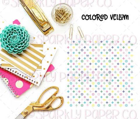 Luxe Collab Colored Vellum