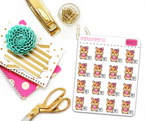 Feed Charlotte Planner Stickers (matte removable) S0027