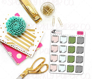 Farmhouse Magic Sticky Note Stickers (matte removable) S0086