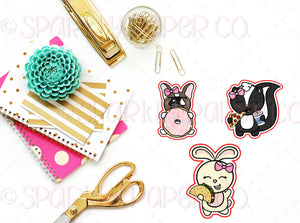 Junk Food Critter Die Cut Bundle