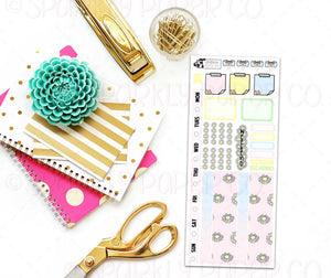 Pastel Daisy Hobo Weeks Kit