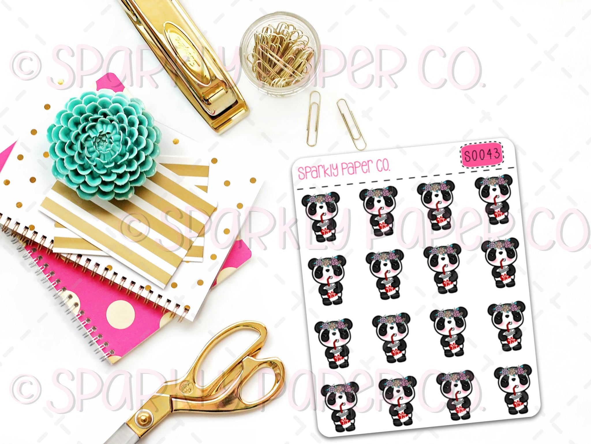 Patty Chick Fil A Planner Stickers (matte removable) S0043