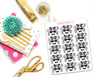 Petty Patty Packing Orders Planner Stickers (matte removable)