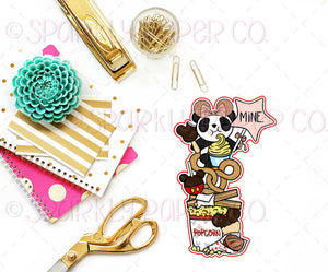 Magical Birthday Patty Snacks Bookmark