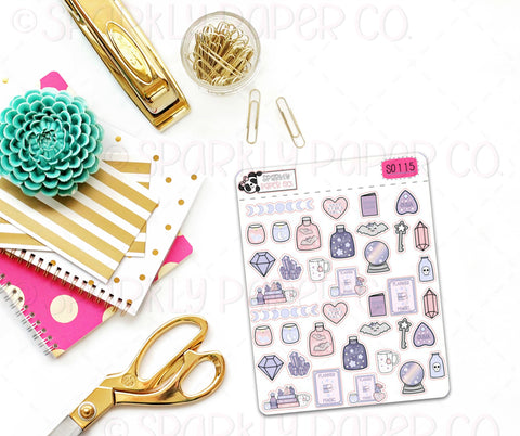 Planner Magic Stickers (matte removable)S0115