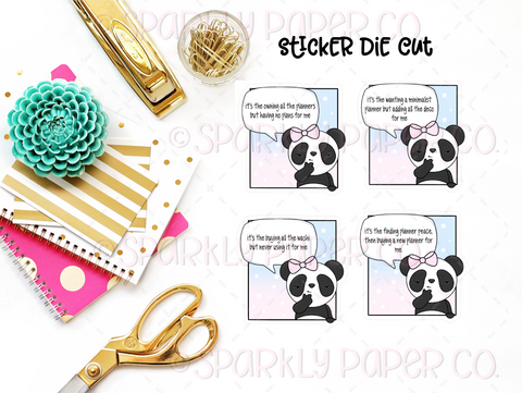 Planner Puns v1 Sticker Die Cuts