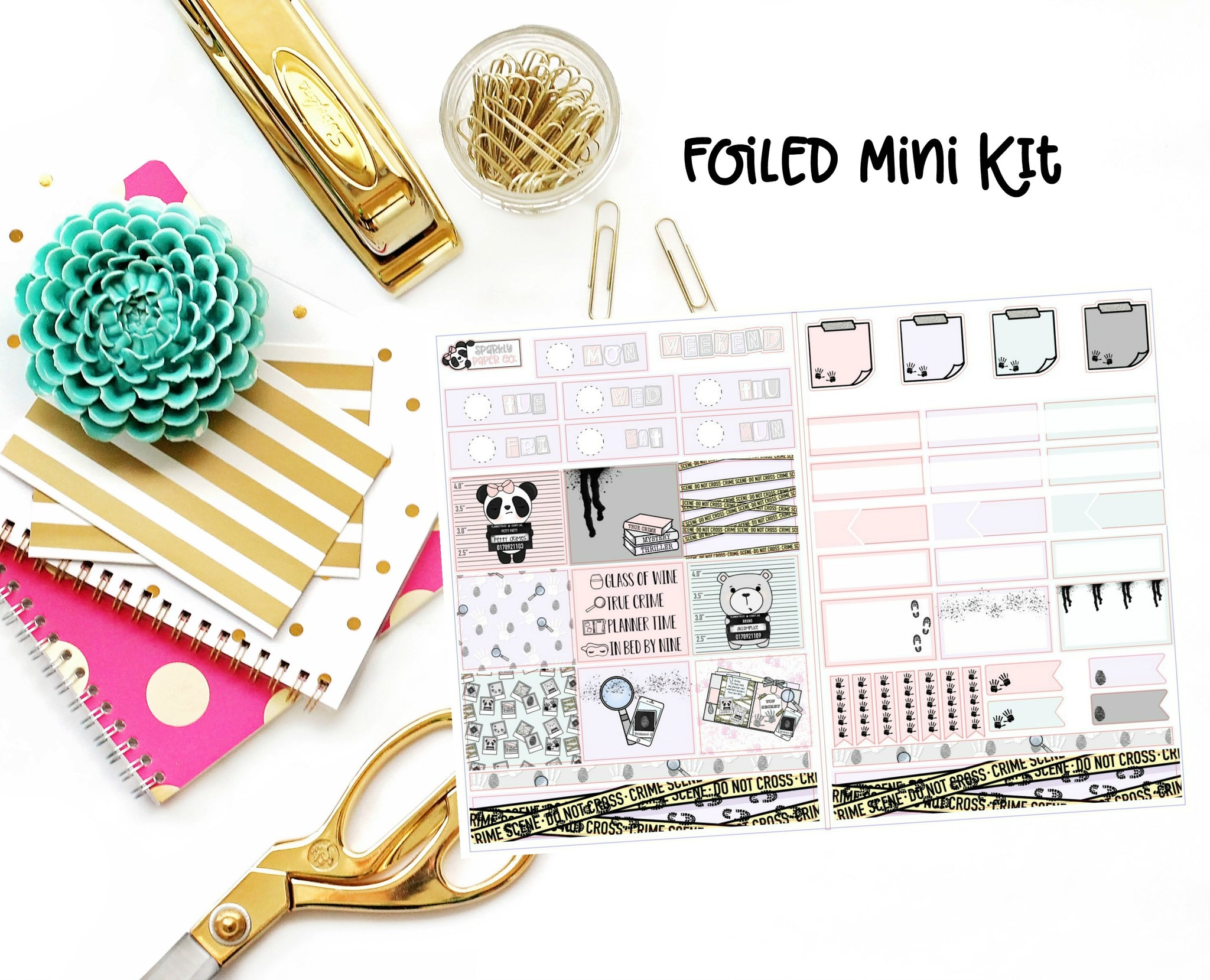 True Crime Foiled Mini Kit (premium matte)