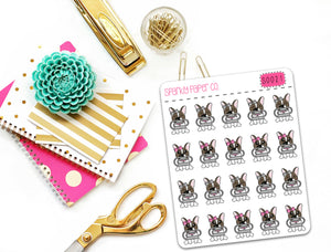 WInnie Clip Planner Stickers (matte removable) S0021