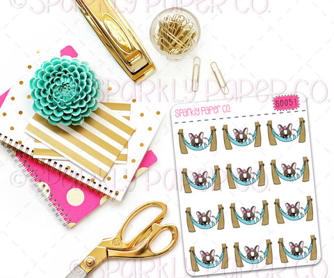 Winnie Hammock Planner Stickers (matte removable) S0051