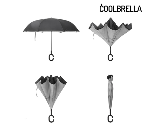 Coolbrella - smart paraply