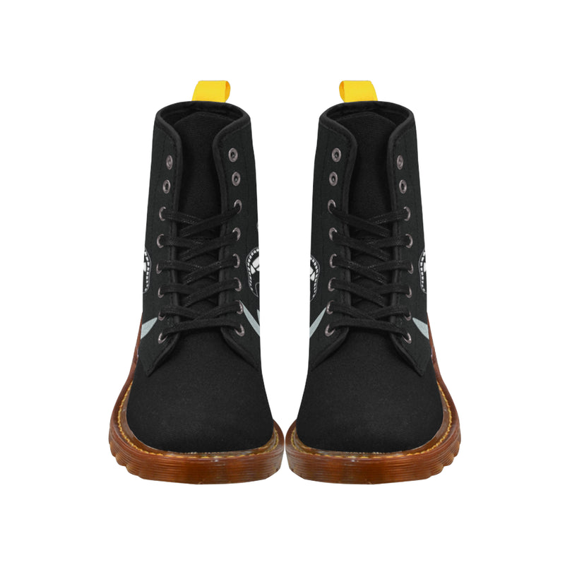 Skeley Flamingo Boots Martin Boots For Women Model 1203H